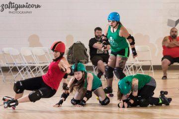 Roller Derby falling