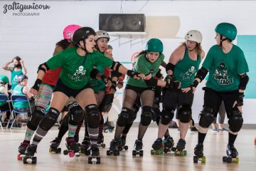 Zombie League Fountain City Roller Derby recreational team